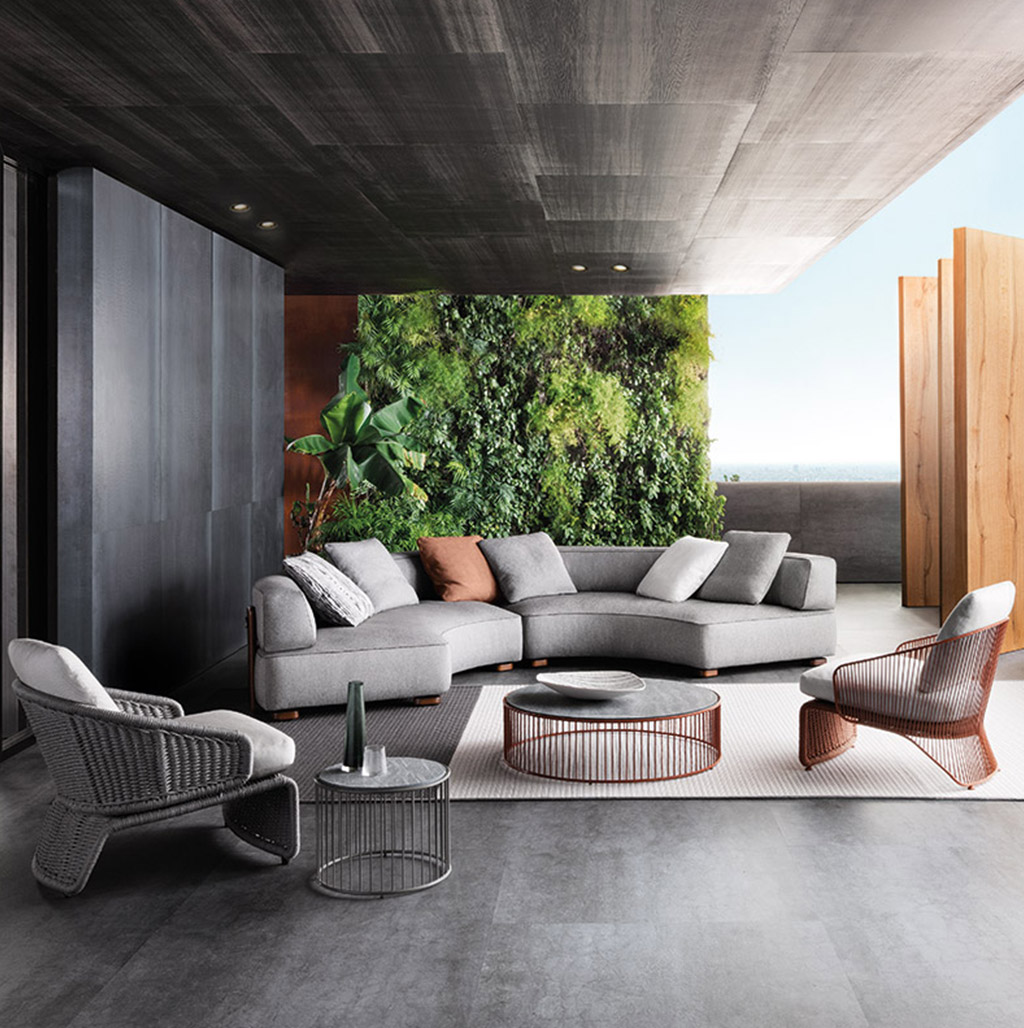 The best outdoor furniture brands minotti roda dedon e for Galbiati arreda