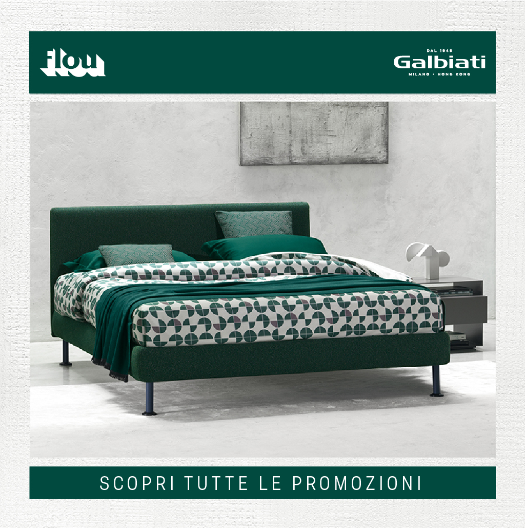 Flou 2019 fall winter promotion for Galbiati arreda
