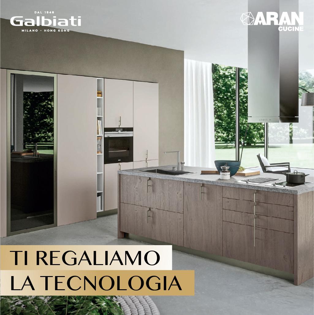Aran cucine ti regaliamo la tecnologia for Galbiati arreda