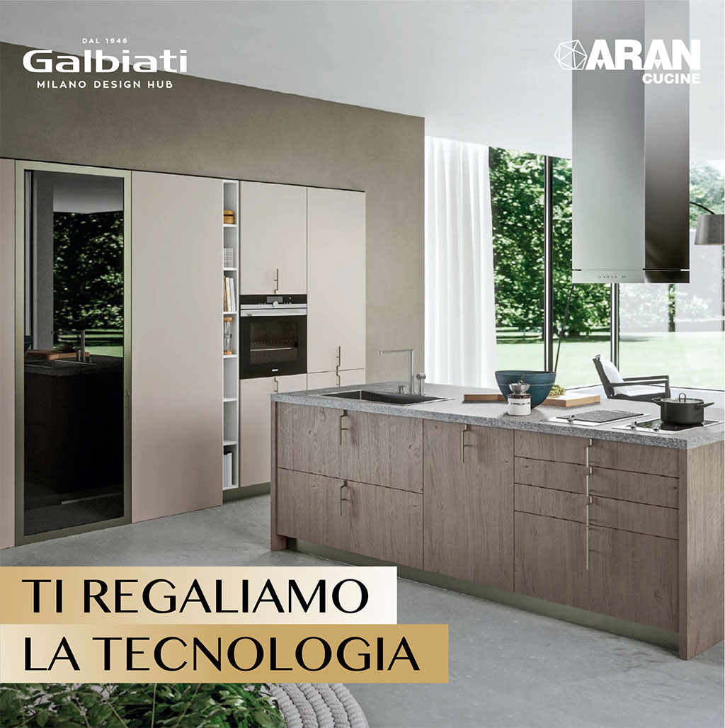 galbiati dal 1946 milano design hub promozione aran samsung