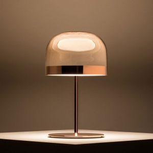illuminazione fontana arte lampada da tavolo equatore