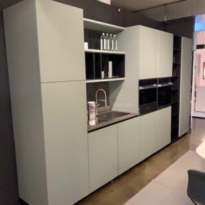 cucina aran cucine modello lab13 verde