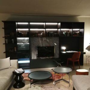 composizione tv spazio teca pianca galbiati milano design hub