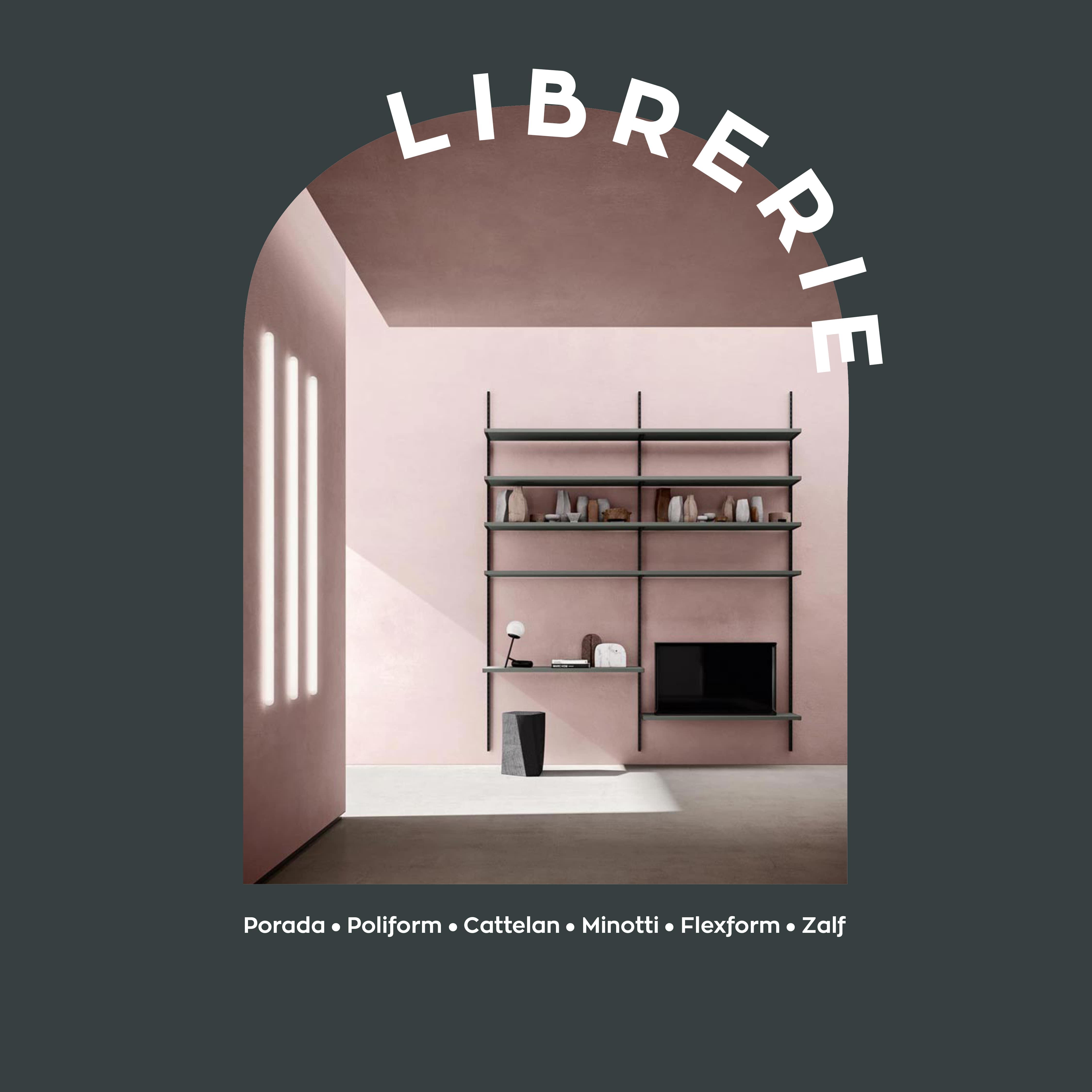 galbiati milano design hub focus librerie