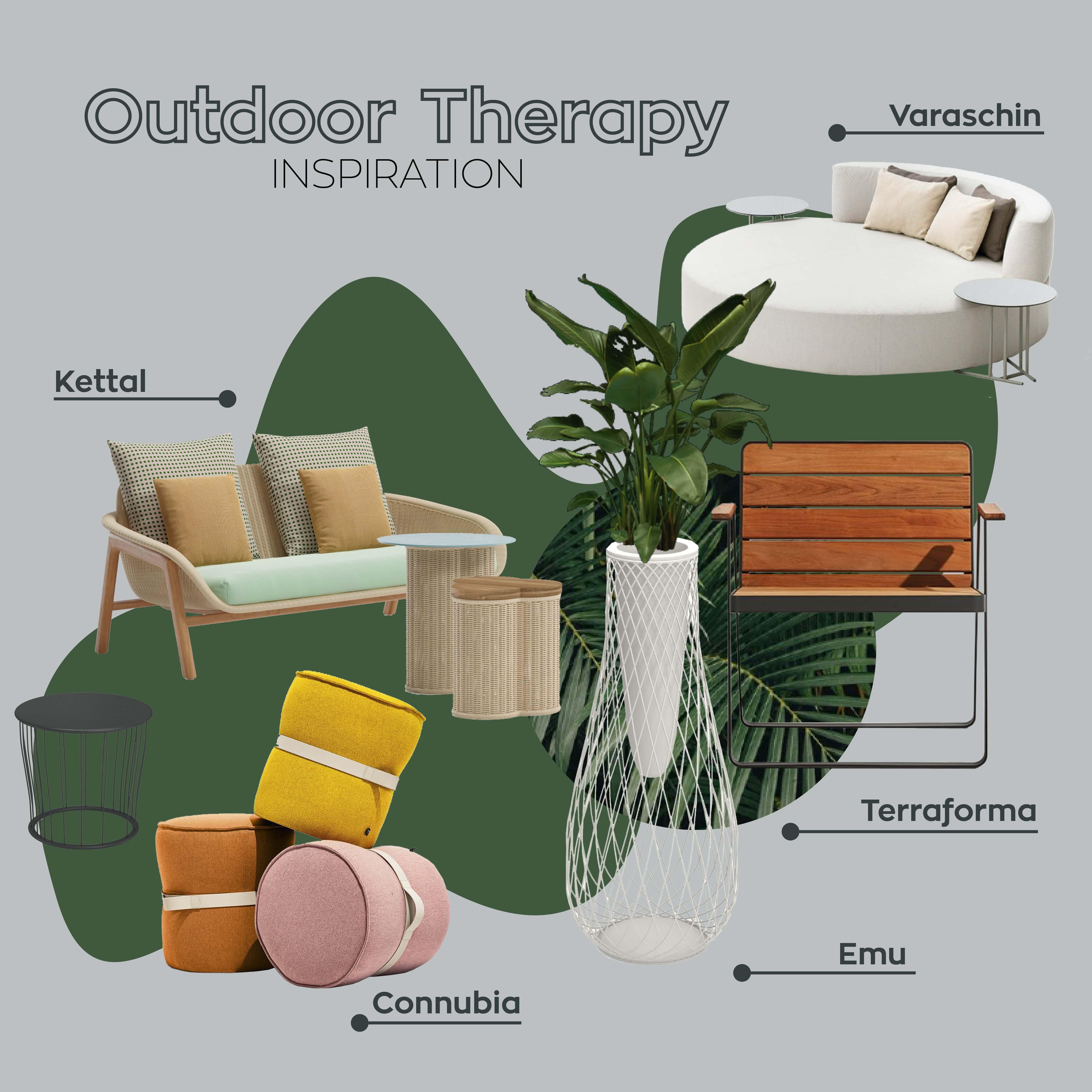 galbiati milano design hub outdoor therapy