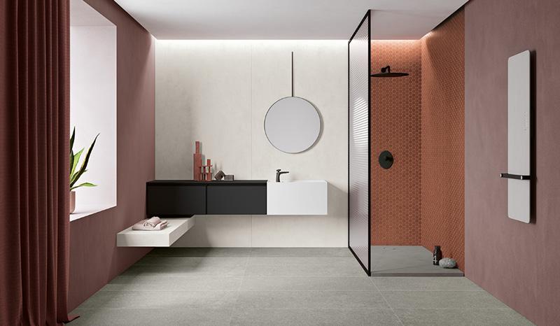 galbiati Milano design hub materiali terratinta